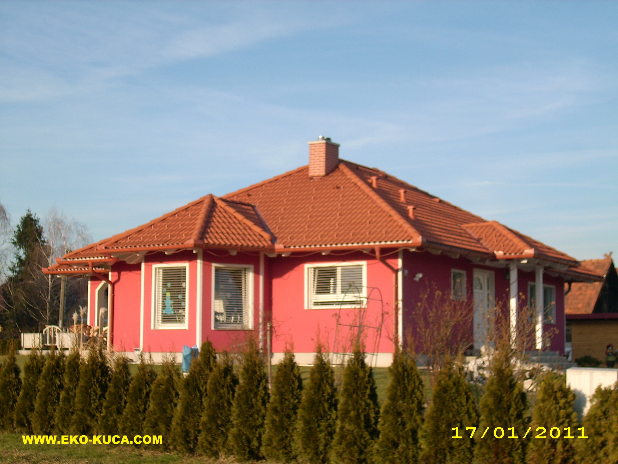 Prefabricated houses - Type 120N-2
