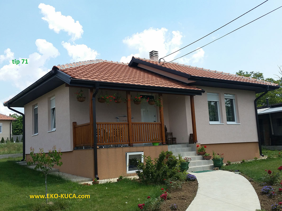 Prefabricated houses - Type 71