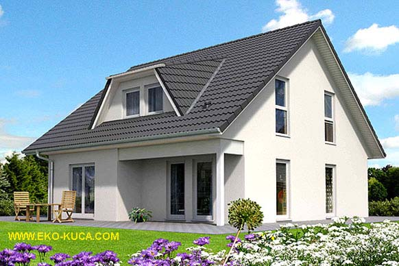 Prefabricated houses - Flora