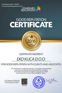 Good Reputation Certificate