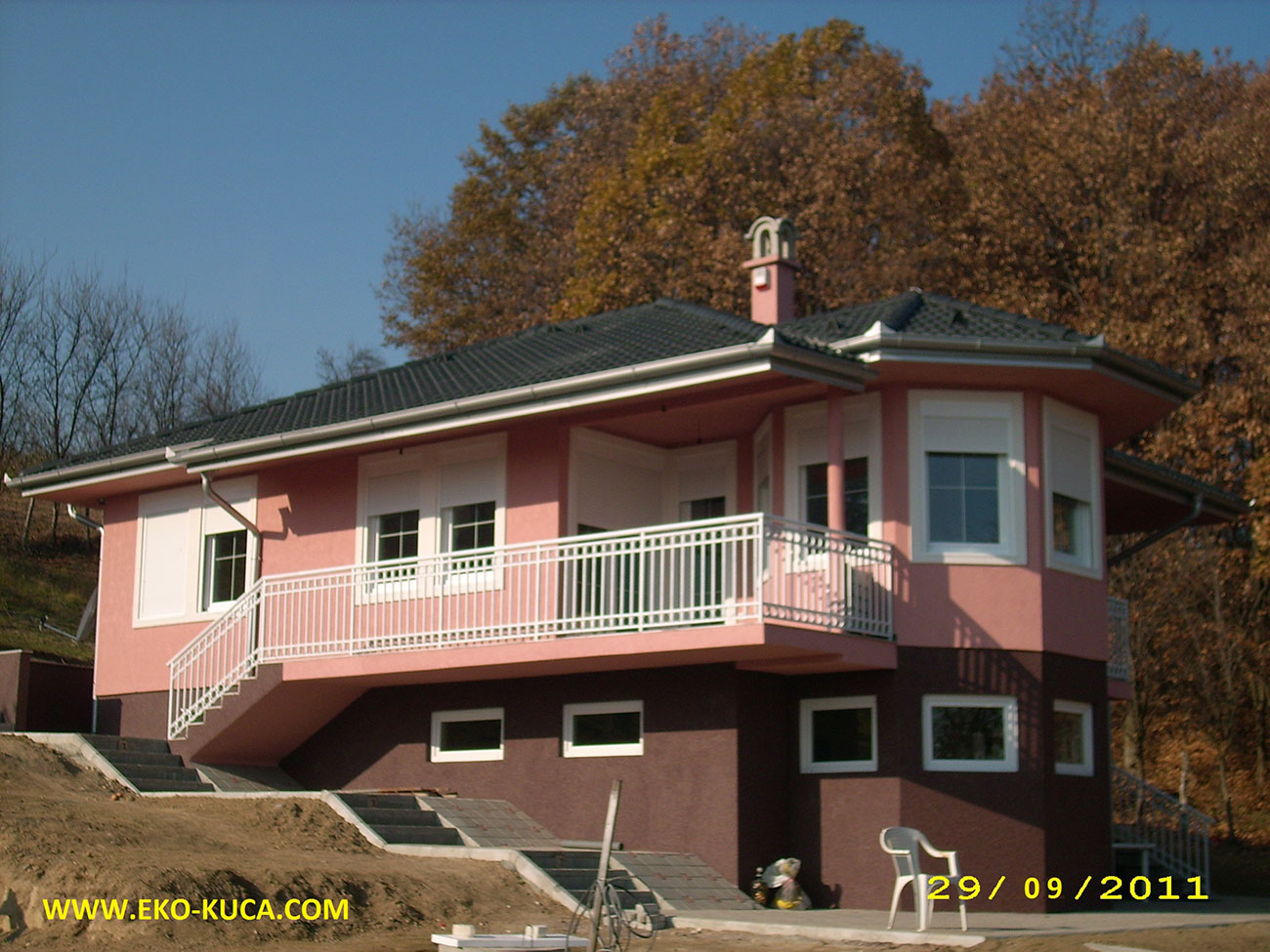 Prefabricated houses - Type 115ČA