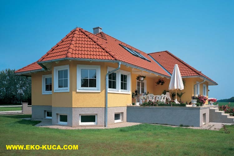 Prefabricated houses - Type 118HS