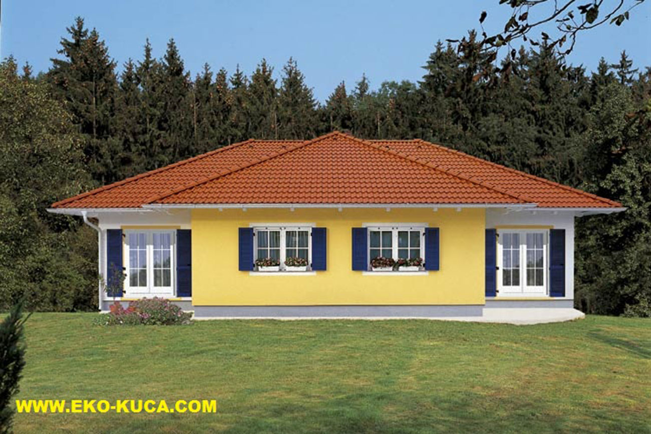 Prefabricated houses - Type - 127HH