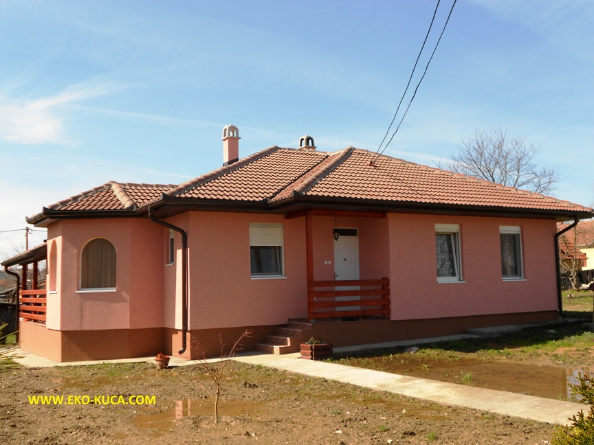 Prefabricated houses - Type 128L