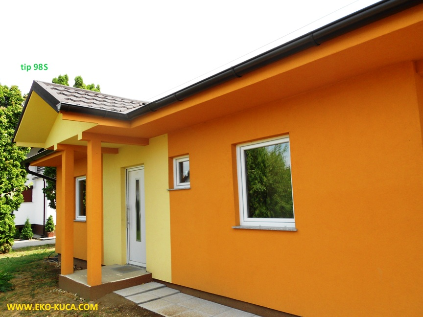 Prefabricated houses - Type 98S