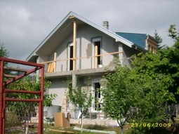 Faze gradnje - Prefabricated houses Marta