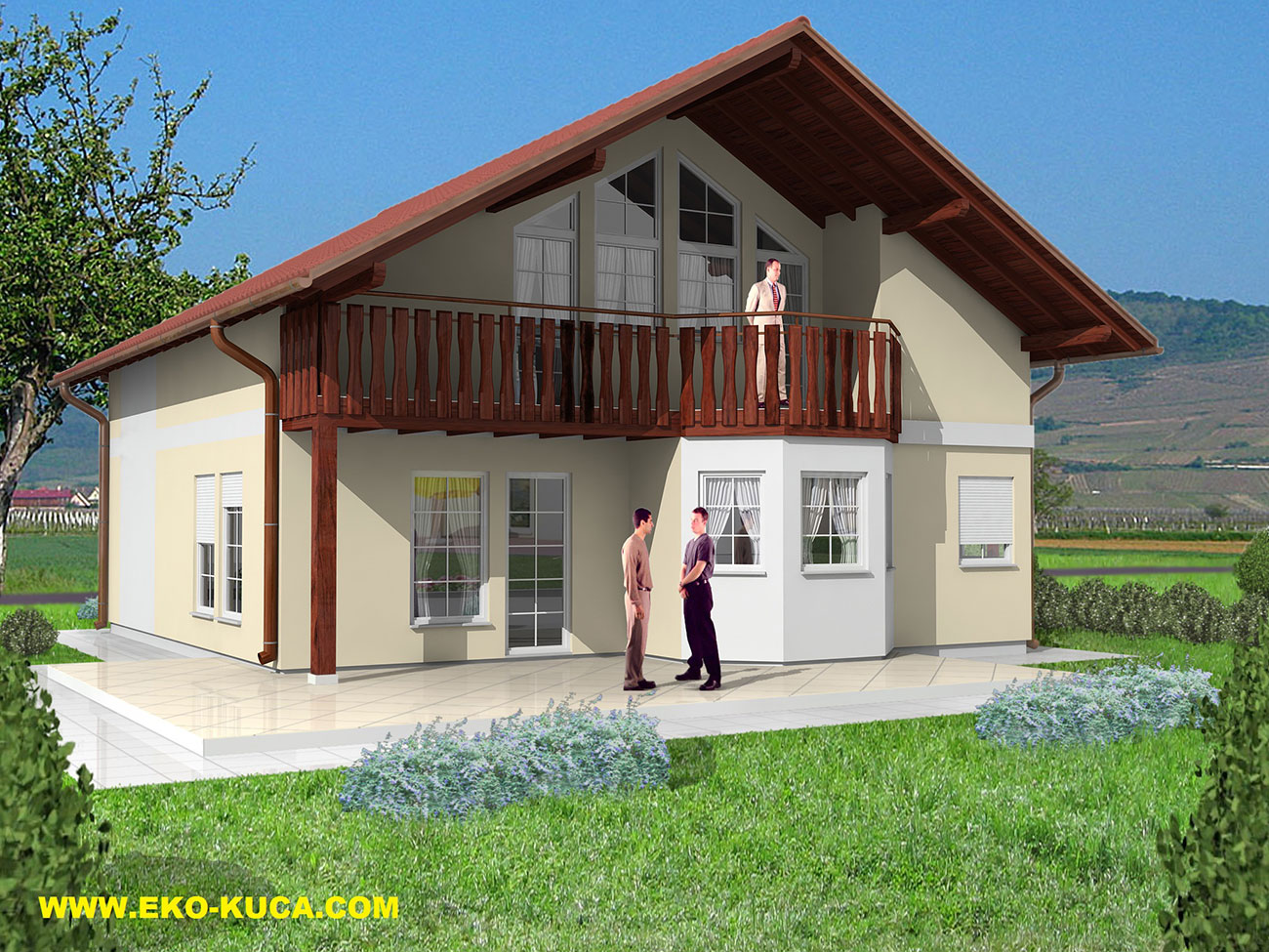 Prefabricated houses - Family 1
