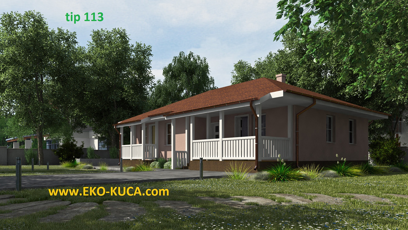 Prefabricated houses - Type 113