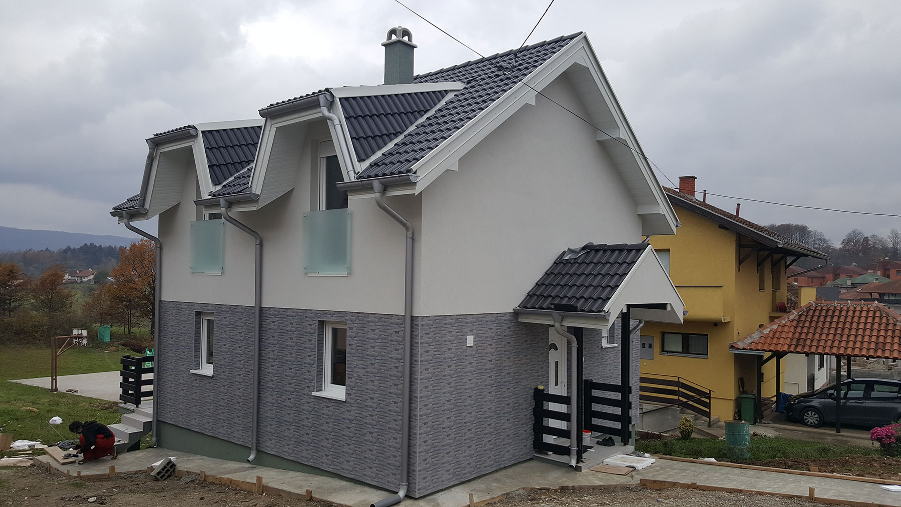 Prefabricated house Rada