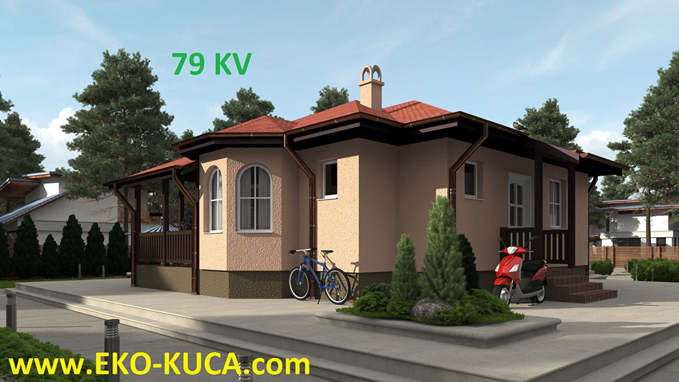 PREFABRICATED HOUSE 79KV