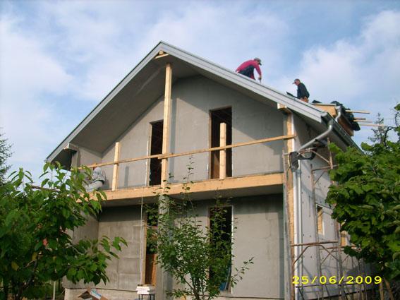 Faze gradnje - montažna kuća Marta