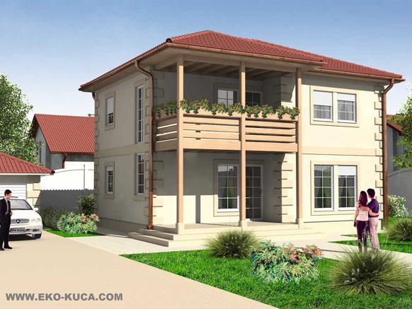 Montovaný dom - Lana
