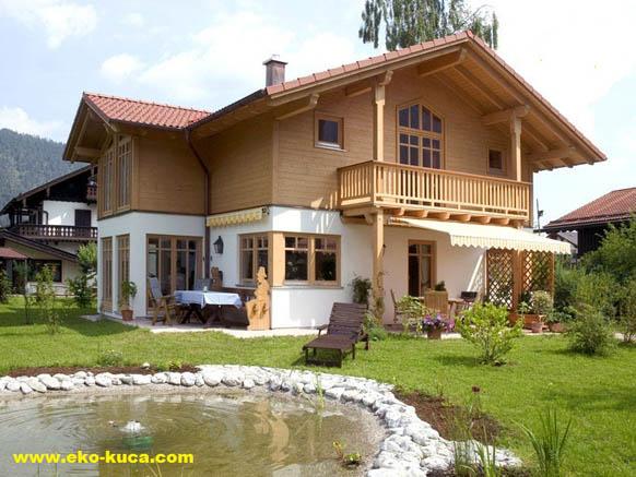 Montovaný dom - Leda