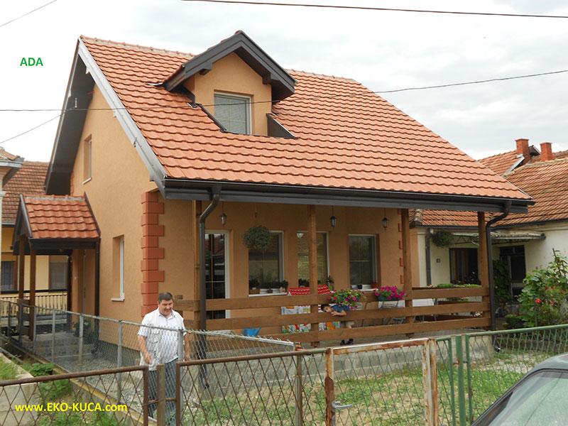 Montovaný dom - Ada