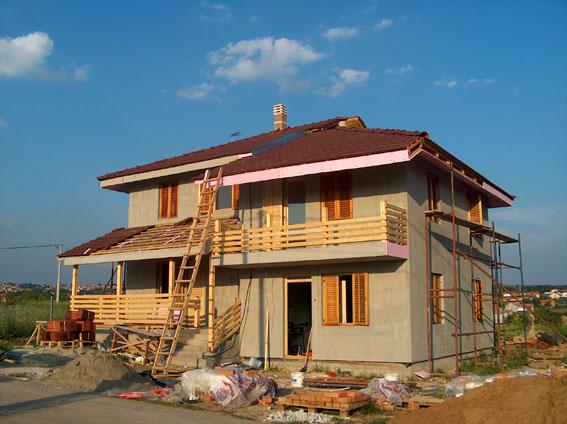 faze gradnje - montažna kuća Iva