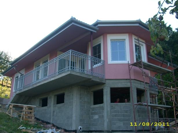 Montažne kuće - Faze gradnje - 115ČA