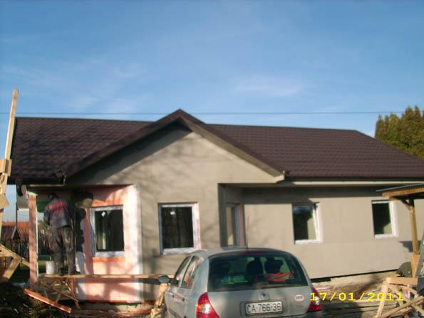 faze gradnje montažne kuće u Sloveniji