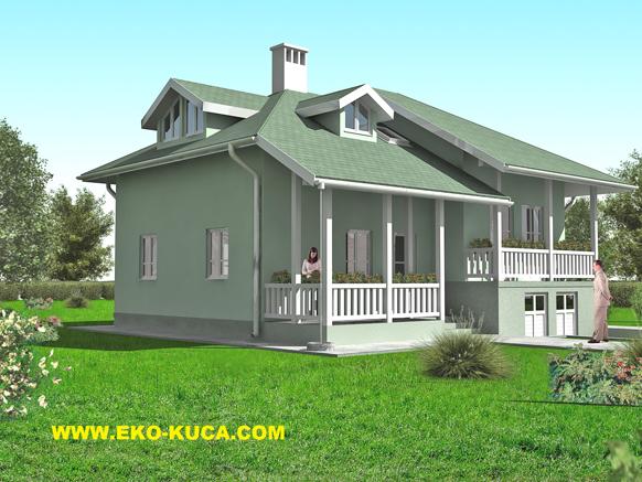 Montažna kuća - Eko kuća I