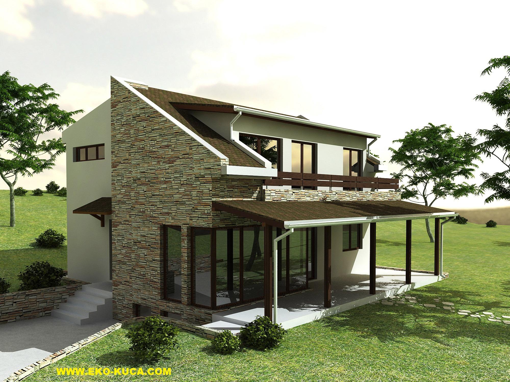 Montažna kuća - Mediteran